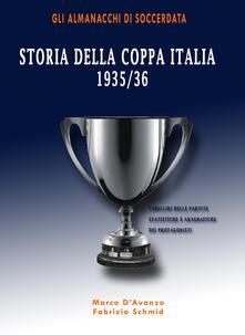 Ristorantezintonio.it Storia della Coppa Italia 1935/36 Image