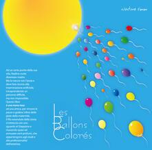 Les ballons colorés. Ediz. italiana - Nadine Emm - copertina