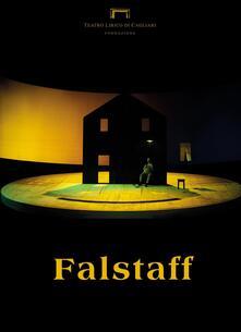 Falstaff di Giuseppe Verdi. Programma di sala stagione lirica e di balletto 2016. Teatro Lirico di Cagliari - copertina