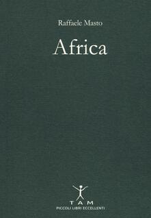 Africa - Raffaele Masto - copertina