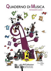 Quaderno di musica. Pentagrammi classici.pdf