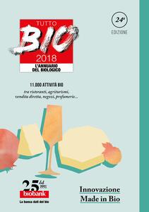 Tutto bio 2018. Annuario del biologico - copertina