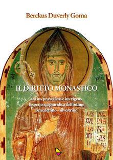 Il diritto monastico - Berckus Duverly Goma - copertina