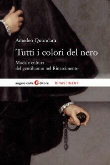 Vitalitart.it Tutti i colori del nero. Moda e cultura del gentiluomo nel Rinascimento Image