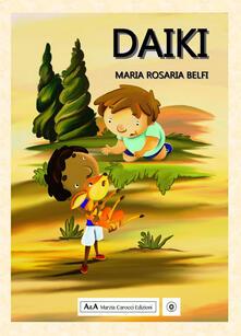 Daiki - Maria Rosaria Belfi - copertina