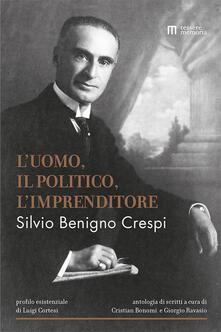 Antondemarirreguera.es Silvio Benigno Crespi. L'uomo, il politico, l'imprenditore Image