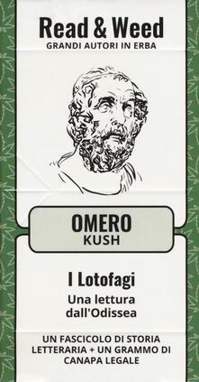 I Lotofagi. Una lettura dall'Odissea. Con gadget - Omero - copertina