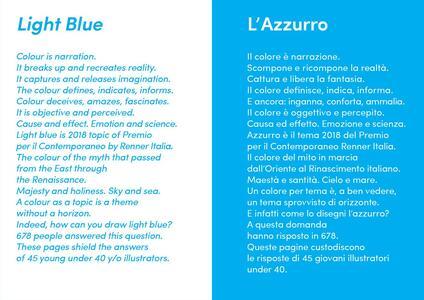 Premio per il Contemporaneo Renner Italia. Catalogo 2018 Azzurro - 4