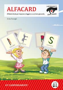 Osteriacasadimare.it Kit AlfaCard. Alfabeto facile per imparare a leggere e a scrivere giocando. Con Libro Image