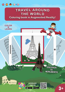 Steamcon.it Travel around the world. Coloring book in augmented reality. Ediz. illustrata Image
