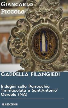 Indagini sulla Parrocchia «Immacolata e Sant'Antonio» Cercola (NA) - Giancarlo Piccolo - copertina