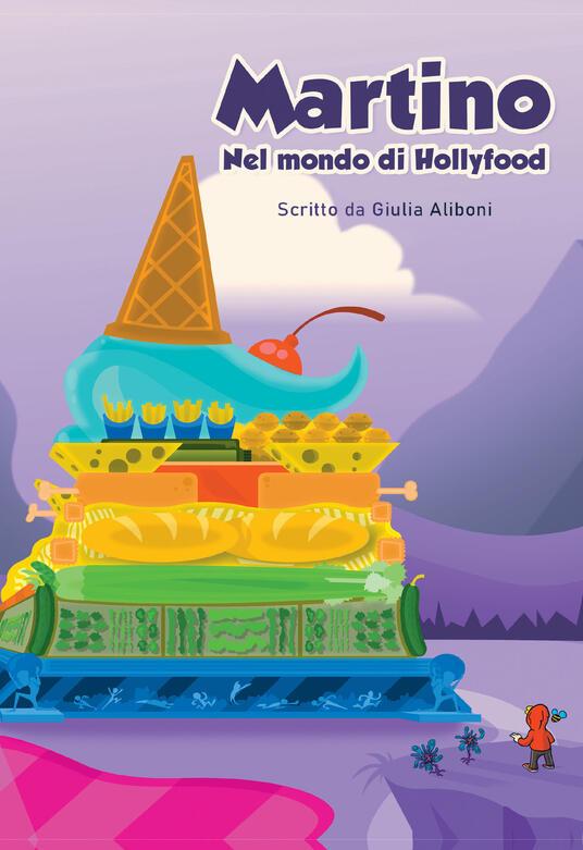 Martino nel mondo di Hollyfood - Giulia Aliboni - copertina