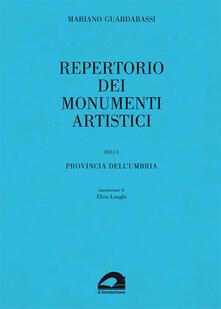 Filippodegasperi.it Repertorio dei monumenti artistici della provincia dell'Umbria Image