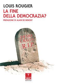 Secchiarapita.it La fine della democrazia? Image