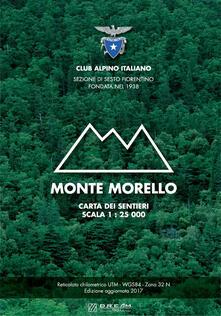 Writersfactory.it Monte Morello. Carta dei sentieri. Scala 1:25.000 Image