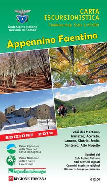 Rallydeicolliscaligeri.it Appennino Faentino. Carta escursionistica 1:25.000 Image