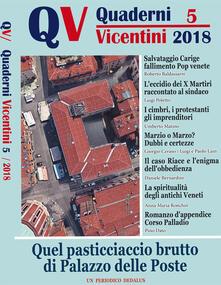 Mercatinidinataletorino.it Quaderni Vicentini (2018). Vol. 5 Image