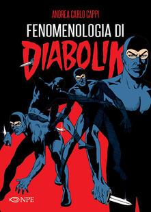 Fenomenologia di Diabolik - Andrea Carlo Cappi - copertina