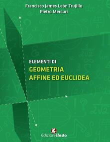 Ristorantezintonio.it Elementi di geometria affine ed euclidea Image