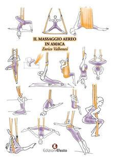 Il massaggio aereo in amaca - Enrico Valbonesi - copertina