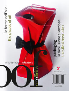 OOF International Magazine (2017). Ediz. bilingue. Vol. 1: forme dell'olio. Packaging, la rivoluzione silenziosa-The shapes of oil. Packaging, the silent revolution, Le. - copertina