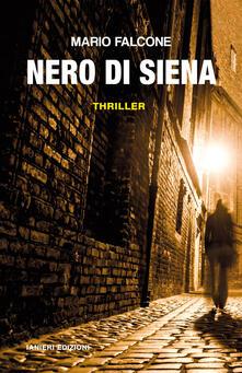 Nero di Siena - Mario Falcone - copertina