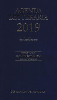 Antondemarirreguera.es Agenda letteraria 2019 Image