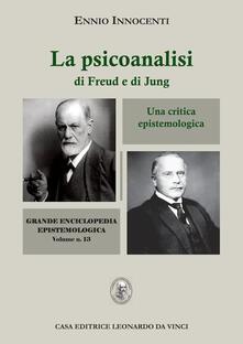 Capturtokyoedition.it La psicoanalisi di Freud e di Jung. Una critica epistemologica Image