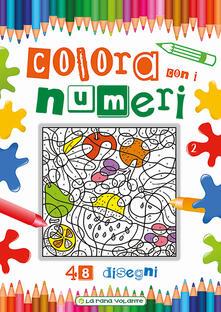 Colora con i numeri. 48 disegni. Ediz. illustrata.pdf