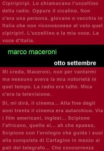 Otto settembre - Marco Maceroni - copertina