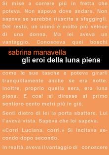 Gli eroi della luna piena - Sabrina Manavella - copertina
