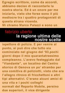 La ragione ultima delle nostre scelte - Fabrizio Uberto - copertina