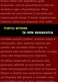 La rete assassina - Marco Arnese - copertina