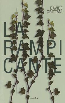 La rampicante - Davide Grittani - copertina