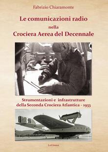 Voluntariadobaleares2014.es Le comunicazioni radio nella Crociera Aerea del Decennale. Strumenti e infrastrutture della Seconda Crociera Atlantica 1933 Image