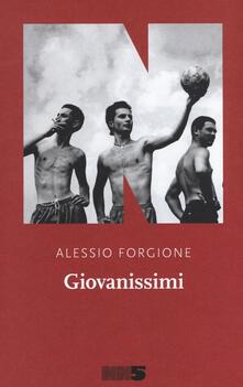 Giovanissimi - Alessio Forgione - copertina