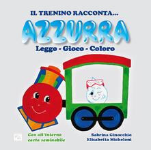 Azzurra - Sabrina Ginocchio - copertina