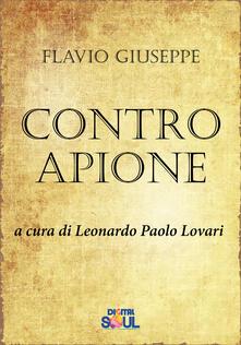Contro Apione - Giuseppe Flavio - copertina