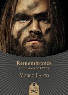 Remembrance. Lultimo contratto.pdf