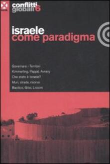 Conflitti globali (2008). Vol. 6: Israele come paradigma..pdf