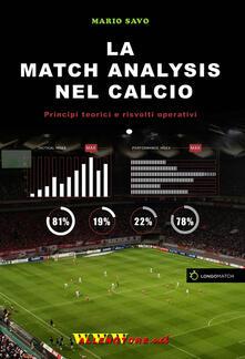 Promoartpalermo.it La match analysis nel calcio. Principi teorici e risvolti operativi Image