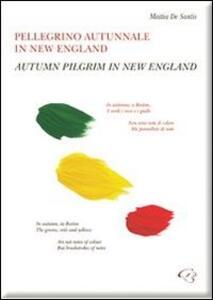 Pellegrino autunnale in New England. Raccolta di poesie & sincrarti. Ediz. italiana e inglese