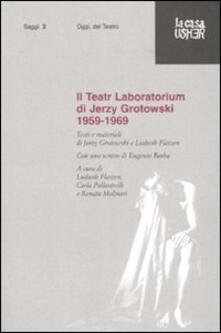 Tegliowinterrun.it Il Teatr Laboratorium. Materiali 1959-1969 Image