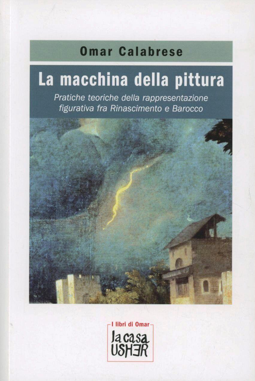 La macchina della pittura. Pratiche teoriche della rappresentazione figurativa tra Rinascimento e Barocco