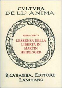 L' essenza della libertà in Martin Heidegger