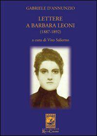 Lettere a Barbara Leoni (1887-1892)
