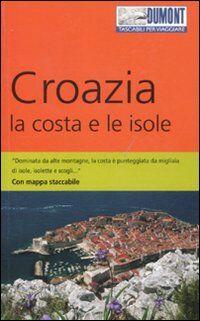 Croazia. La costa e le isole. Con mappa