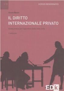 Il diritto internazionale privato. Guida pratica per l'operatore dello stato civile