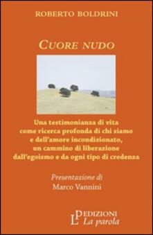 Cuore nudo - Roberto Boldrini - copertina