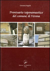 Prontuario toponomastica del comune di Verona